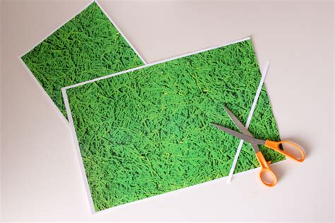 How To Make Grass Out Of Paper - easter grass wrapping paper free printables