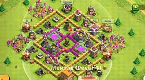 Clash Of Clans Weekly Base Analysis Part 15 Town Hall 7 War Base » Ideas Home Design