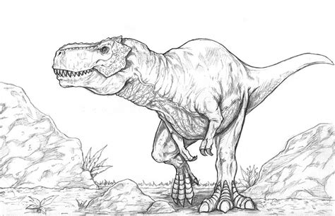 Drawing T Rex by Trex By Wil Woods On Deviantart
