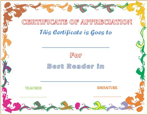 free certificate aof best mother template