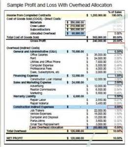 How To Find Negative Energy At Home financial statements above or below the line costs jlc
