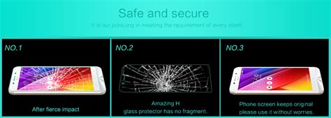 Murah Nillkin Frosted Shield Asus Zenfone Max Zc550kl nillkin amazing h tempered glass screen protector for asus