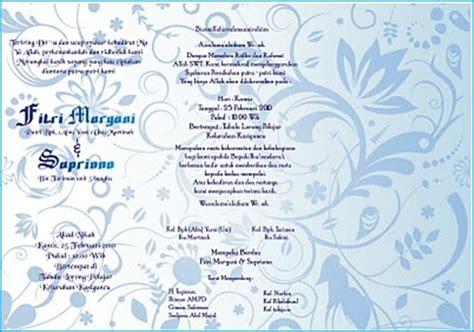 contoh undangan pernikahan terbaru 2013 cadas