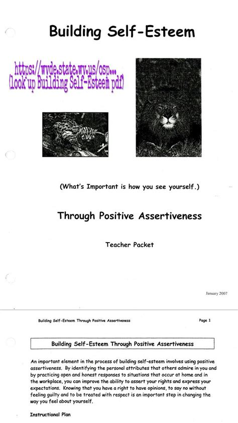 1000 ideas about self esteem worksheets on