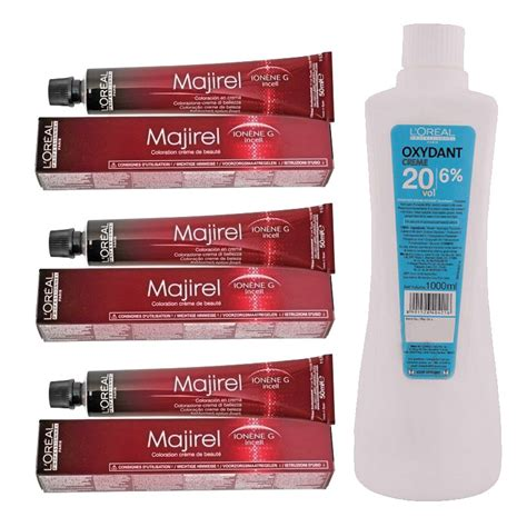 L Oreal Majirel No 4 3 Permanent Hair Color Brown Golden Reflect 50 Ml Pack Of 3 Buy L Oreal Buy L Oreal Professionnel Majirel Hair Color No 4 Brown 3 50ml With Oxydant Cr 232 Me