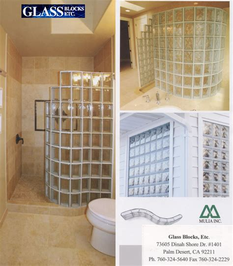 Glass Block Mulia 95052 Toba mulia glass block installation motavera