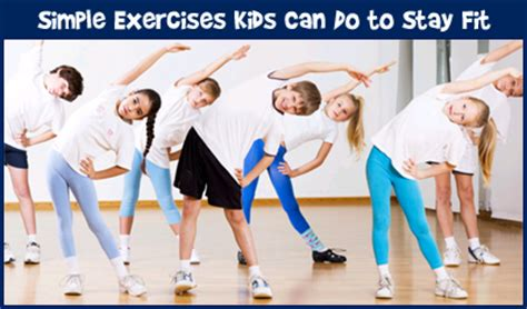 top 10 exercises for children