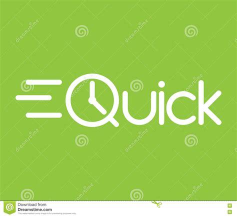 design a logo quick quick logo vector illustration cartoondealer com 81271982