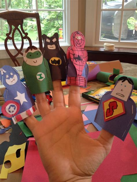Make Finger Puppets Out Of Paper - pin by leryn bullock on
