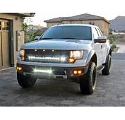 2010 2014 Ford F 150 SVT Raptor Fog Light Replacement Kit  Rigid