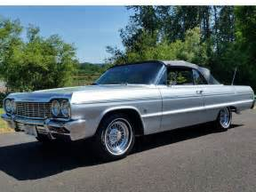 silver 64 impala 1964 chevrolet impala ss convertible 327 ci silver