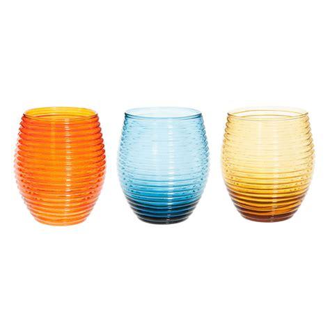 bicchieri maison du monde 6 bicchieri in vetro peace maisons du monde