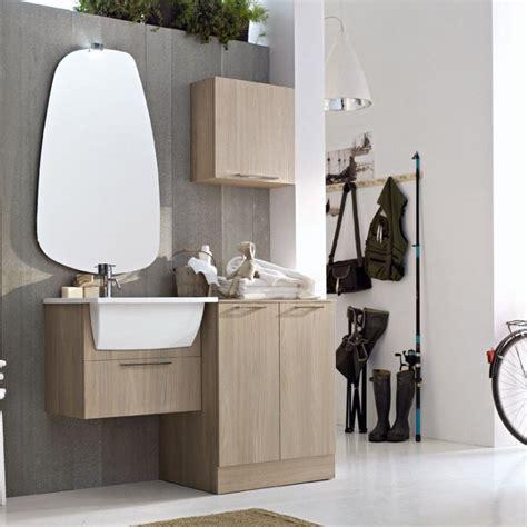lavello per lavanderia mobile lavanderia con lavatoio e porta lavatrice su misura