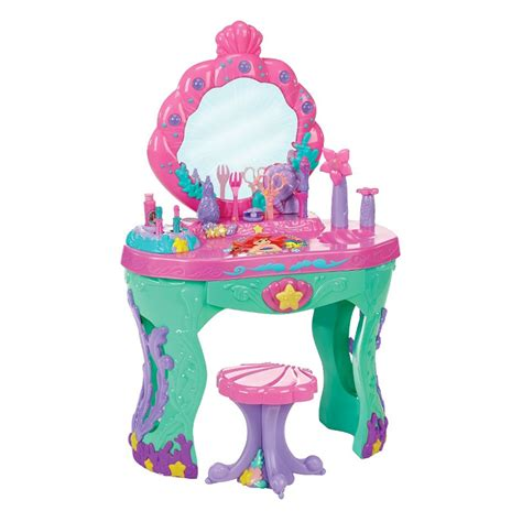 Vanity Playset by Furniture Rectangle Pink Wooden Vanity Set With