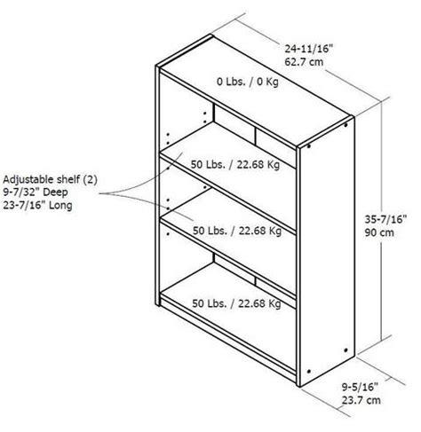 wood bookcase 3 shelf sturdy contemporary organize