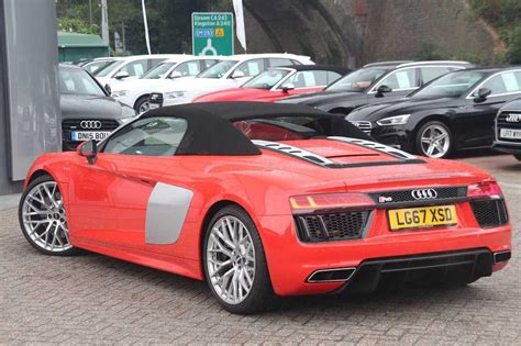 Audi R8 Ps by Used 2017 Audi R8 Spyder V10 5 2 Fsi Quattro 540 Ps S