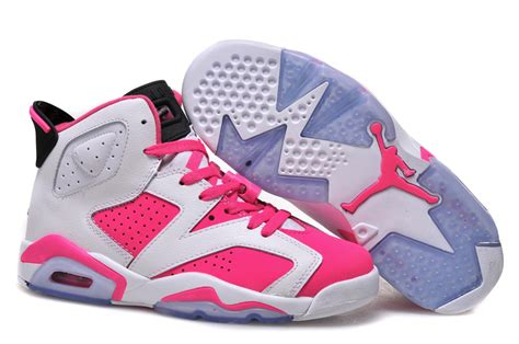 retro basketball shoes for sale pink womens air retro 6 shoes