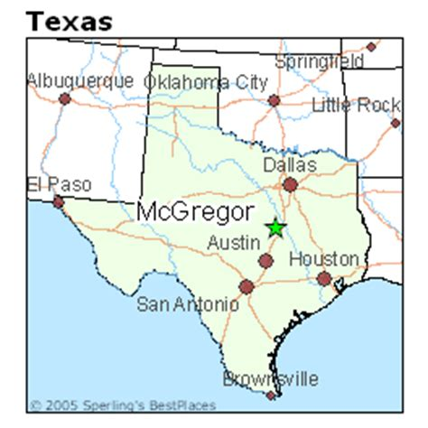 mcgregor texas map best places to live in mcgregor texas