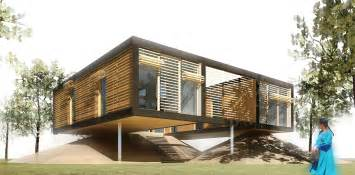 Windows With Blinds Inside Cost - fabulous prefabs 13 luxury portable abodes that ll move you freshome com