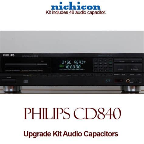 philips audio capacitors philips cd840 upgrade kit audio capacitors