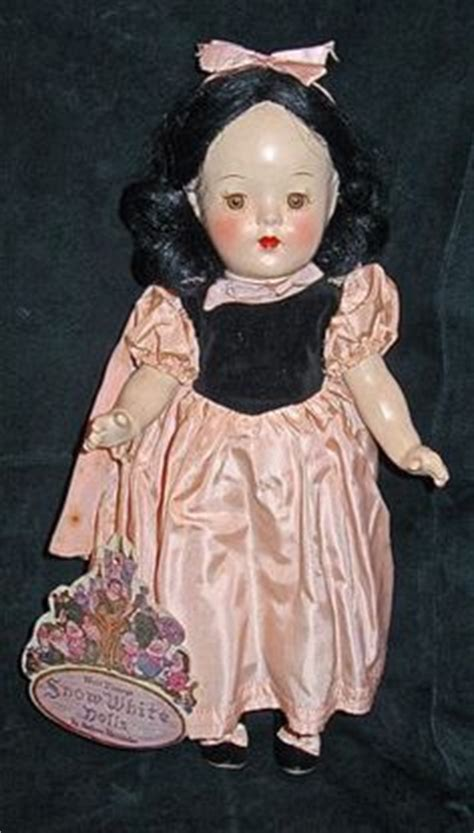 composition snow white doll snow white composition dolls on madame