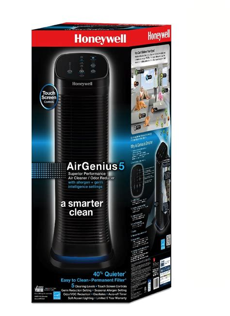 Honeywell Background Check Honeywell Airgenius5 Hfd320 Review Clean Air