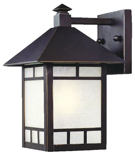 Height Of Sconces by Artisan 1 Light 10 5 Height Outdoor Wall Sconce