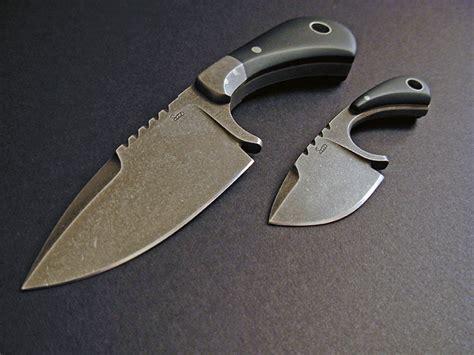 custom knive custom neck knives fixed blade knives gallery 2