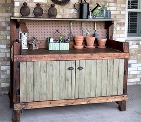 large potting bench potting bench work space inspiration one hundred dollars a month