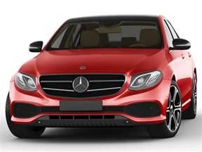 mercedes e class avantgarde sedan 2017 3d model max obj