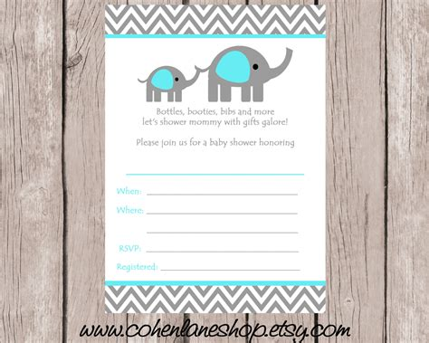 blank baby shower invitations templates theme blank baby shower invitation