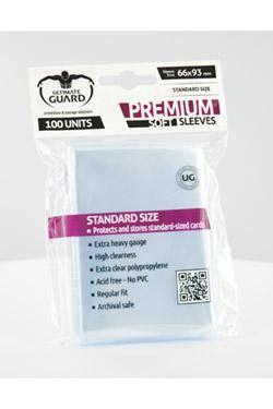 Ultimate Guard Classic Soft Sleeves Mtg 100pcs buy supplies card ultimate guard premium soft sleeves standard size transparent 100