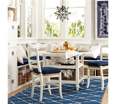 kitchen table pottery barn pottery barn dining event save 20 on dining tables chairs bars and chandeliers