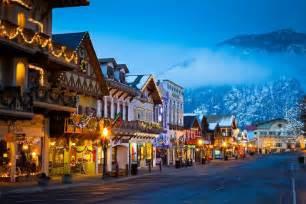 Leavenworth Tree Lighting What Is Leavenworth Washington Alpine Bavarian Village