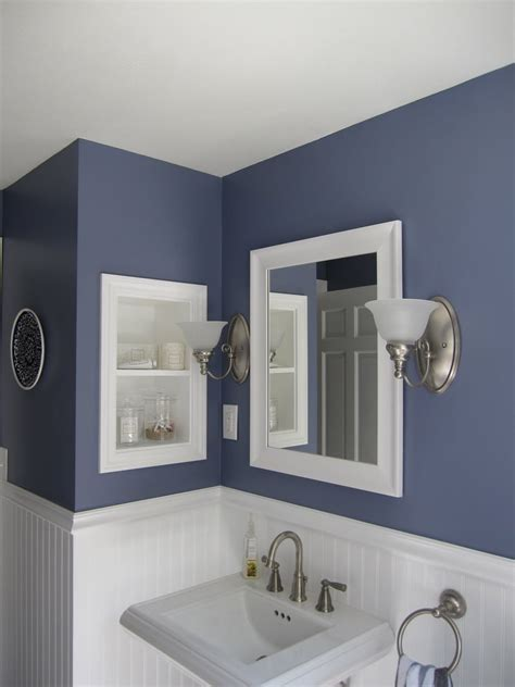 two tone bathroom color ideas two toned interior wall colors for bathroom home combo