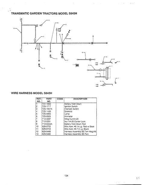 wiring diagram 1993 mtd lawn tractor get free image