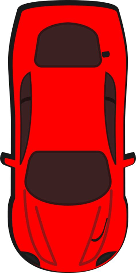 pixel car top view cartoon car top view clipart best