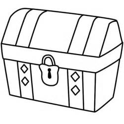 treasure chest coloring page pin by lina koopu on applique