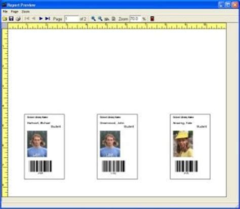 Create Identification Card With Avery Template 5361 In Word by Equipment Tools Check In Out Software Supplies Id Labels