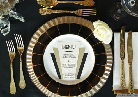 10 Great Gatsby Themed Party Ideas In Exquisite Vintage Glamour Style   BestPickr