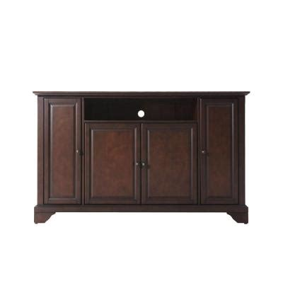 crosley lafayette tv stand in mahogany kf10001bma the