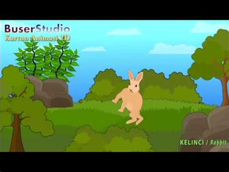 film kartun kelinci kartun binatang 06 hewan kelinci animasi 2d cartoon