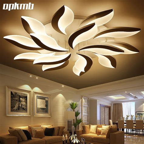 decorative lights for living room aliexpress com buy new flower diy acrylic led ceiling