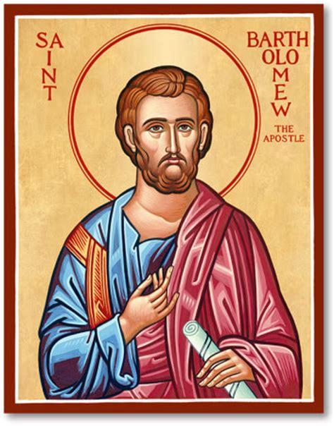 Religious Home Decor men saint icons st bartholomew icon monastery icons