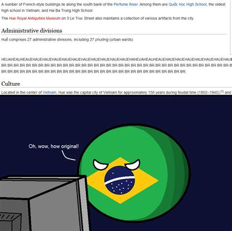 Hue Meme - brazil s opinion on hue br polandball know your meme