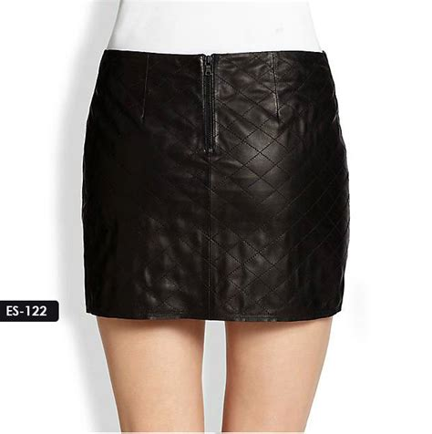 sydney leather jacket quilted mini leather skirt by