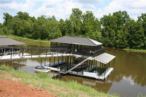 floating dock boat house 7 best double decker floating docks images on pinterest