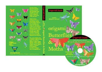 origami dvd origamido origami butterflies and moths dvd