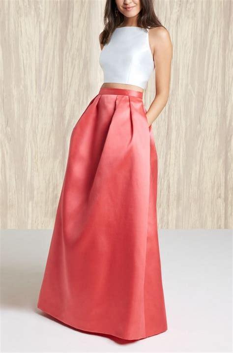 imagenes de faldas blancas largas m 225 s de 25 ideas fant 225 sticas sobre faldas largas boda en