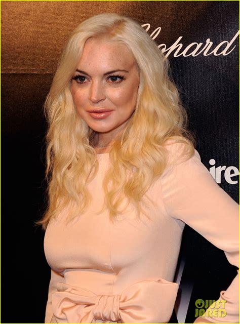 Lindsay Lohan Golden by Lindsay Lohan Golden Globes After Photo 2618820